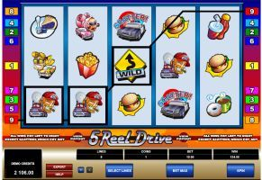5 reel drive pokie